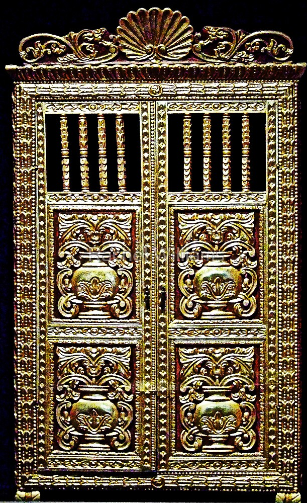 Gilded Cabinet by Rachel Williams