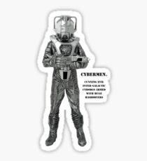 Cybermen Hairdryers Sticker