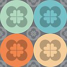 Geometric Pattern: Flower Circle: Saracen by * Red Wolf
