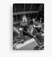 Bury Tomorrow - Slam Dunk Festival Canvas Print