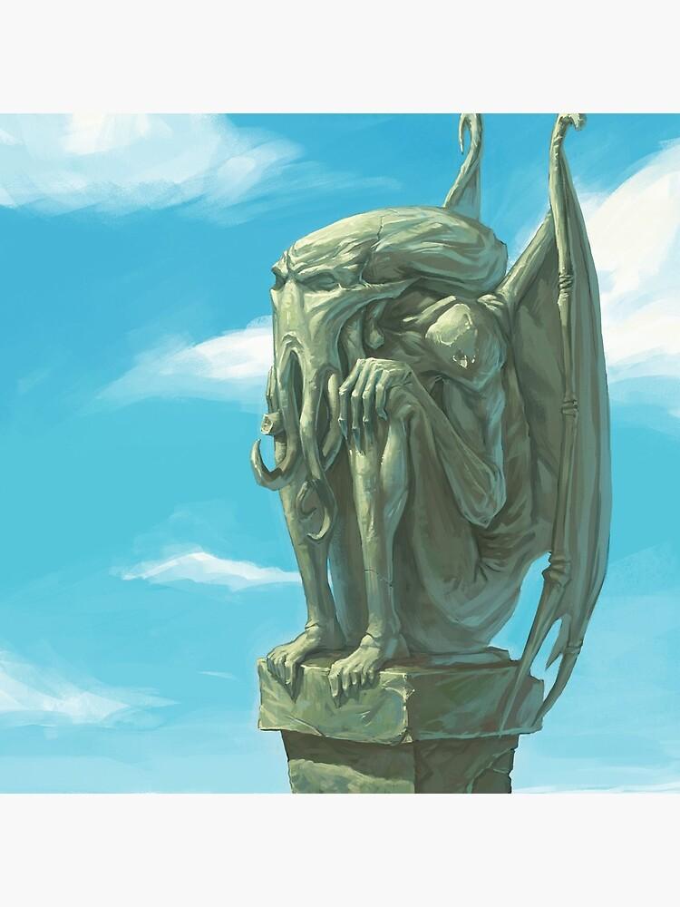 Cthulhu - The Silent Watcher by Damsa