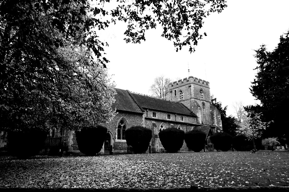 A Church in Wendover by Ross Hall
