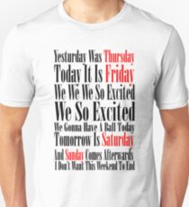 Rebecca Black Friday T-Shirt