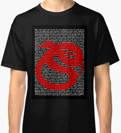 """""""The Year Of The Snake / Serpent"""" Clothing Classic T-Shirt"""