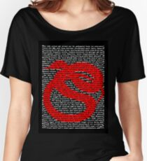 """The Year Of The Snake / Serpent"" Clothing Women's Relaxed Fit T-Shirt"