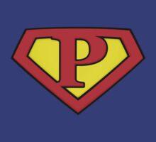 SUPER P Logo Shield