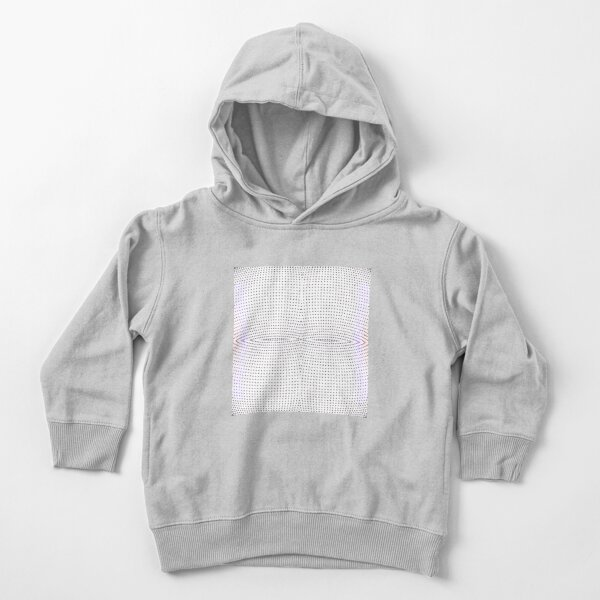 Grid, net, pattern, design, gradation, metallic, abstract, weaving, tile, fiber, halftone, repetition, spotted, textile, backgrounds, textured, geometric shape, square Toddler Pullover Hoodie