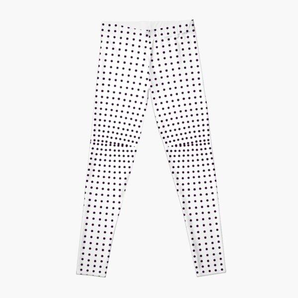Grid, net, pattern, design, gradation, metallic, abstract, weaving, tile, fiber, halftone, repetition, spotted, textile, backgrounds, textured, geometric shape, square Leggings