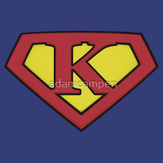 TShirtGifter presents: SUPER K Logo Shield