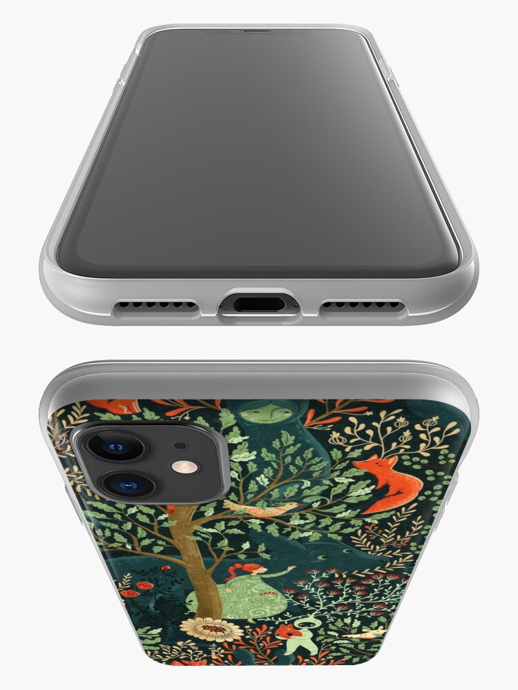 Alternate view of Whimsical Wonderland iPhone Case & Cover