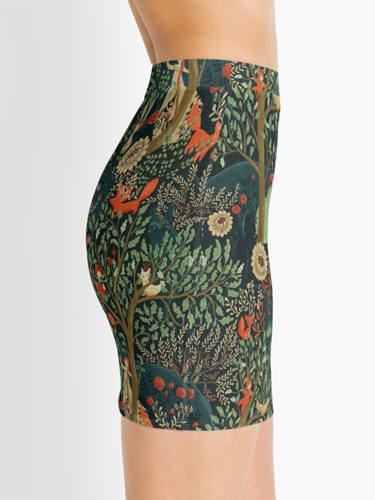 Alternate view of Whimsical Wonderland Mini Skirt