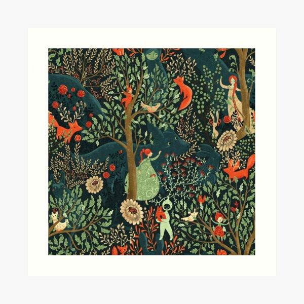 Whimsical Wonderland Art Print