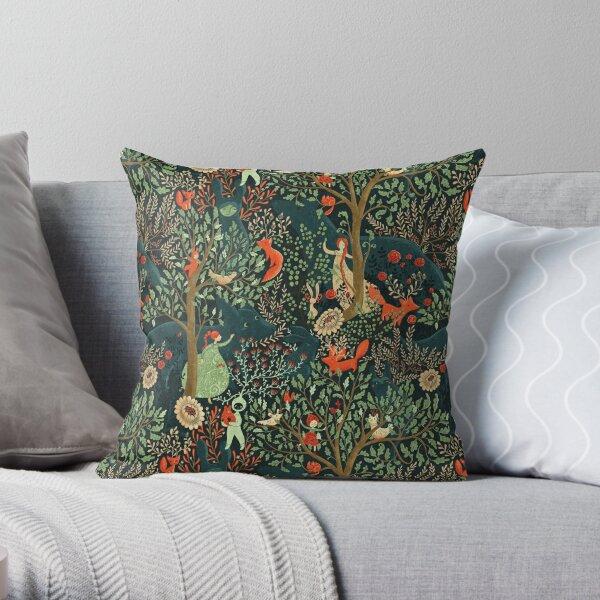 Whimsical Wonderland Throw Pillow