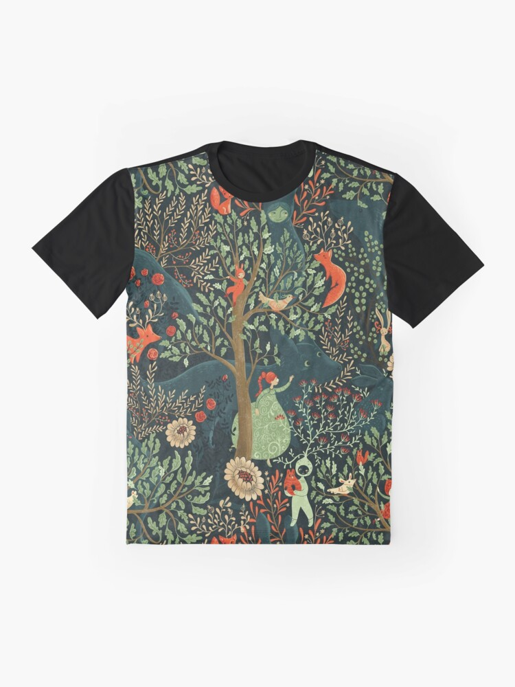 Alternate view of Whimsical Wonderland Graphic T-Shirt