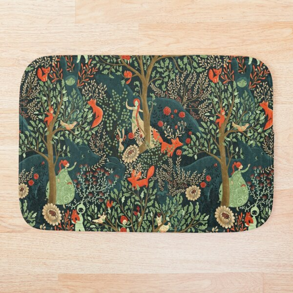 Whimsical Wonderland Bath Mat