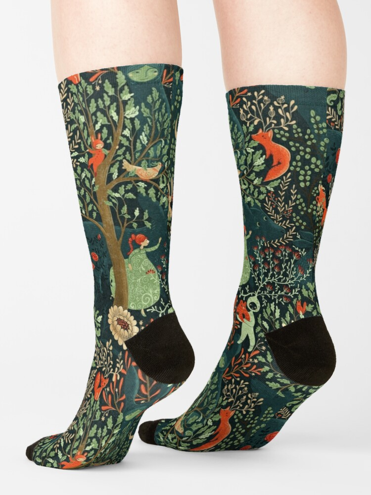 Alternate view of Whimsical Wonderland Socks