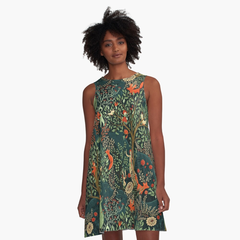 Whimsical Wonderland A-Line Dress