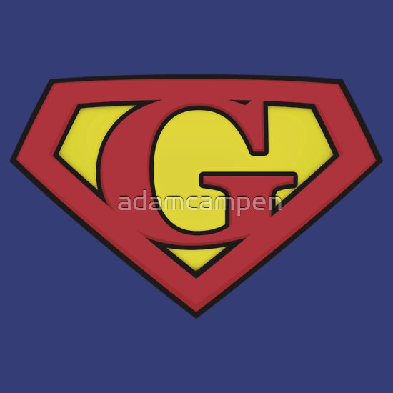 TShirtGifter presents: SUPER G Logo Shield