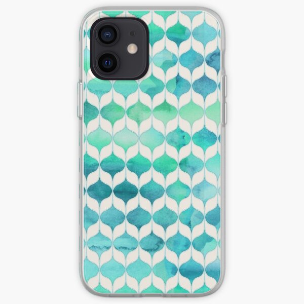 Ocean Rhythms and Mermaids Tails iPhone Soft Case
