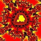 Yellow Mandelbrot by Rupert Russell
