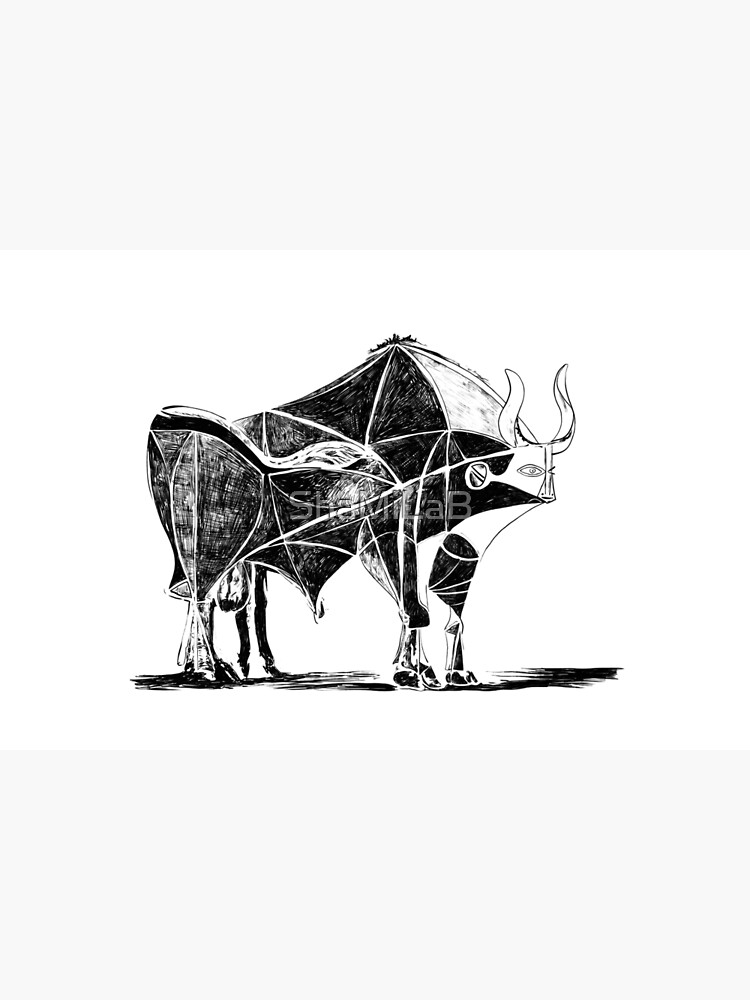 Picasso's Bull by ShaMiLaB