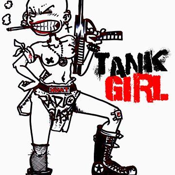 TANK GIRL by TheWildChild