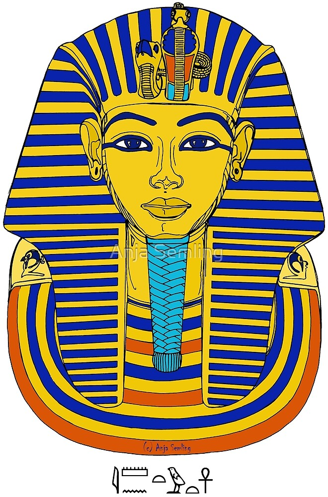 TUTANCHAMUN I Pharao Totenmaske von Anja Semling