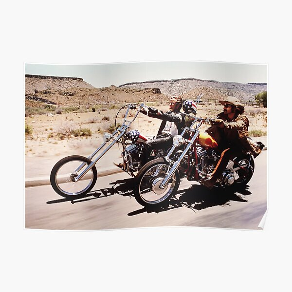 Easy Rider - Born To Be WIld Poster