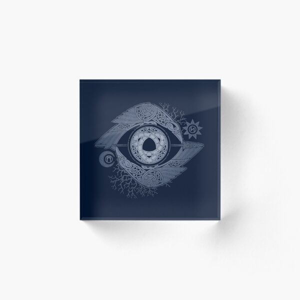 ODIN'S EYE Acrylic Block