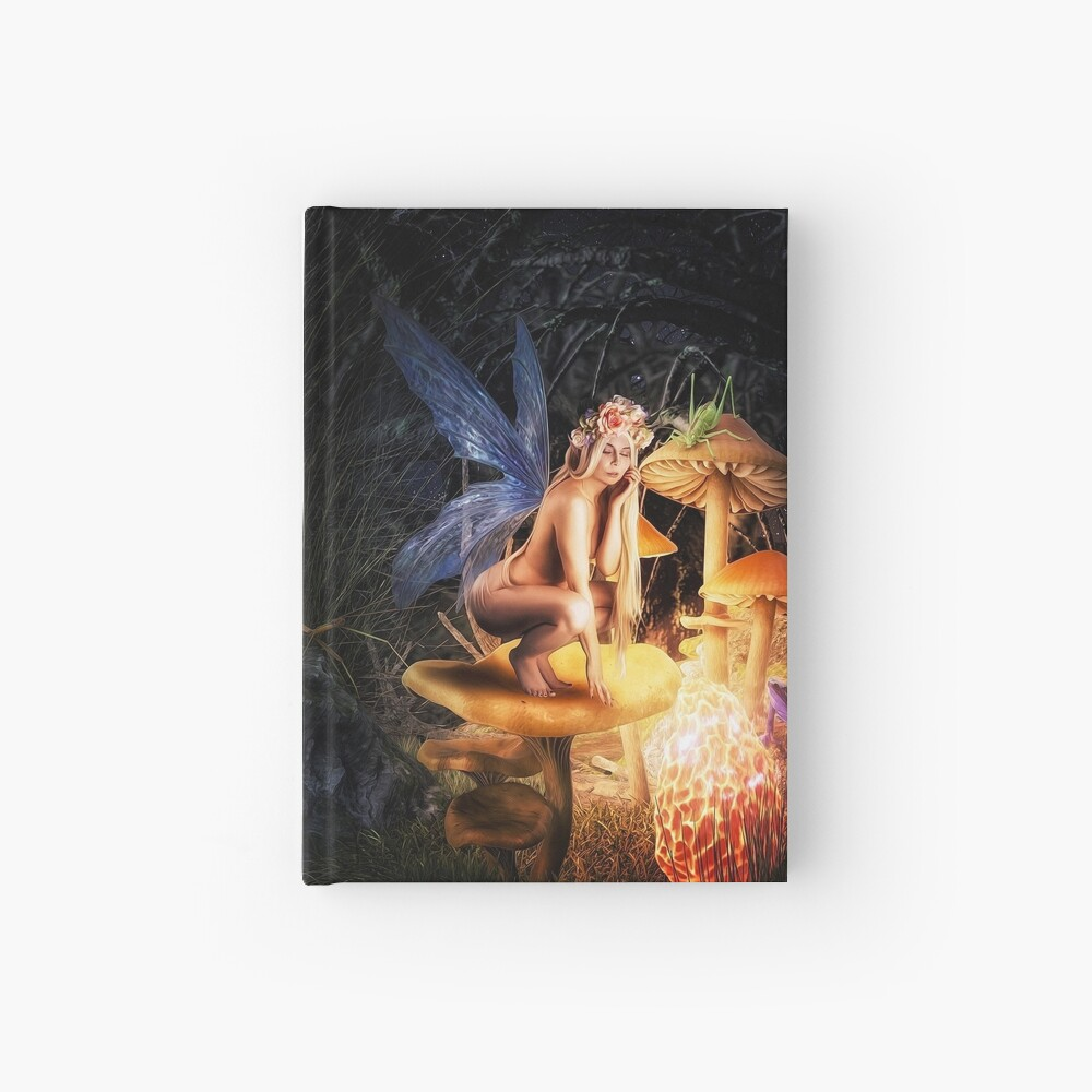 The Fairy Hearth Hardcover Journal