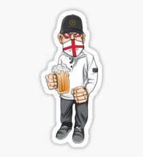 English Hooligan Sticker