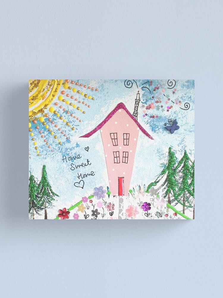 Alternate view of Home Sweet Home Canvas Print