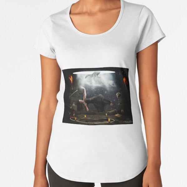 The Portal  Premium Scoop T-Shirt