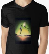 DUNKART SUNSET Men's V-Neck T-Shirt