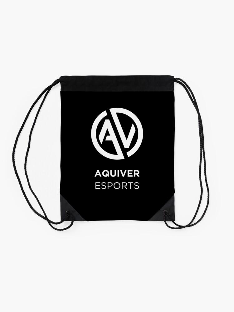 Alternate view of Aquiver Esports Drawstring Bag