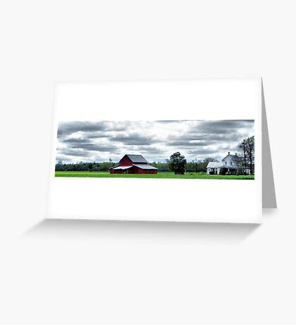Rural Perquimans County Greeting Card