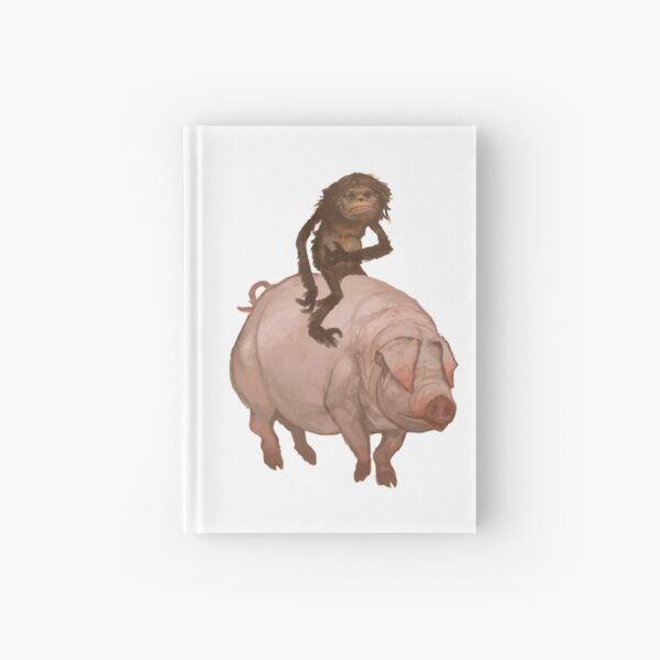 The Hairy Thing and the Pig Hardcover Journal