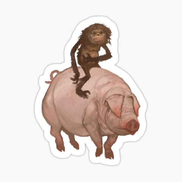 The Hairy Thing and the Pig Sticker