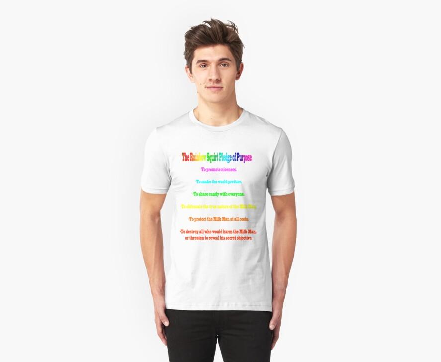 The Rainbow Squirt Pledge Of Purpose by Rachel Miller