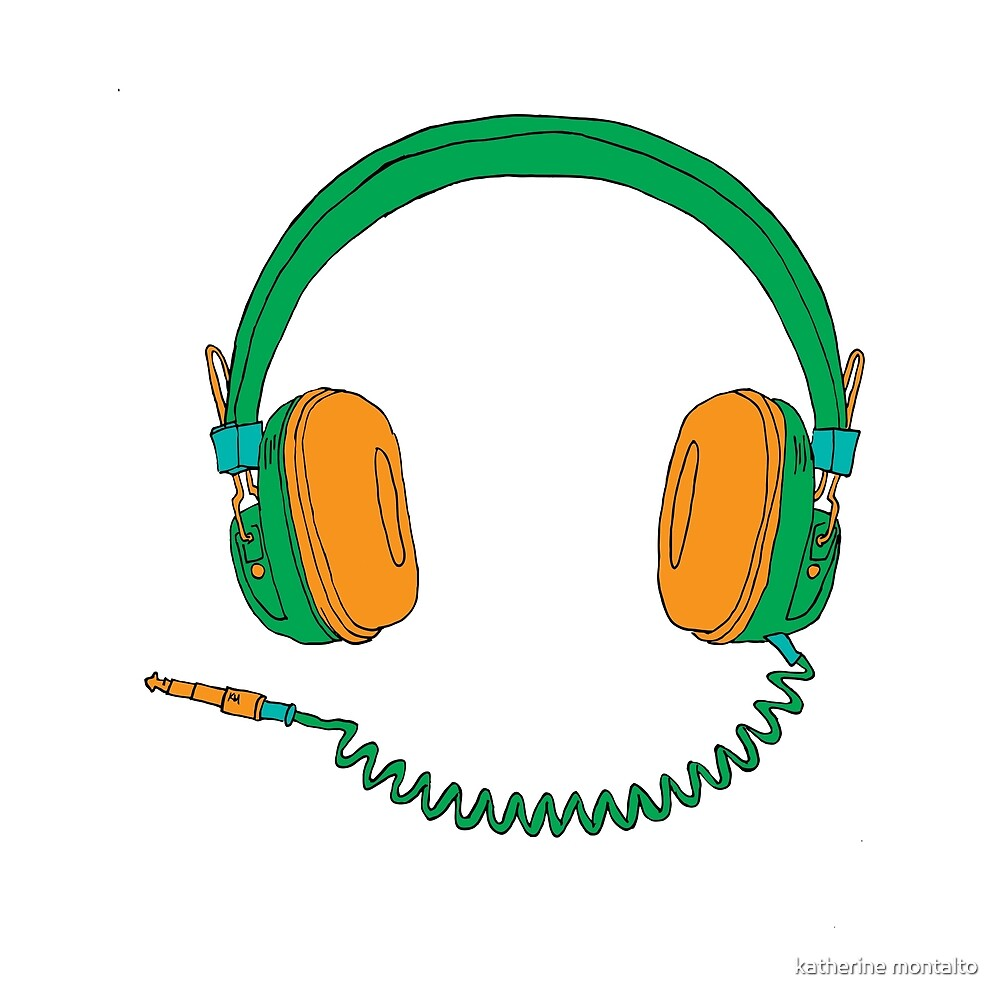 Headphones by katherine montalto