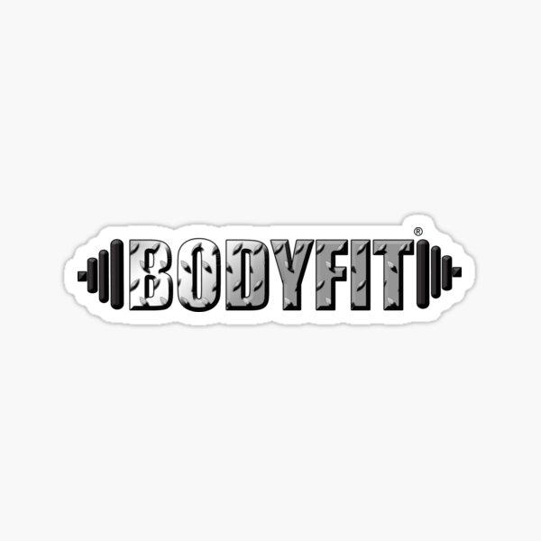 BODYFIT Diamond Plate Logo Sticker