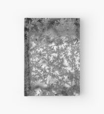 Ice flowers Hardcover Journal