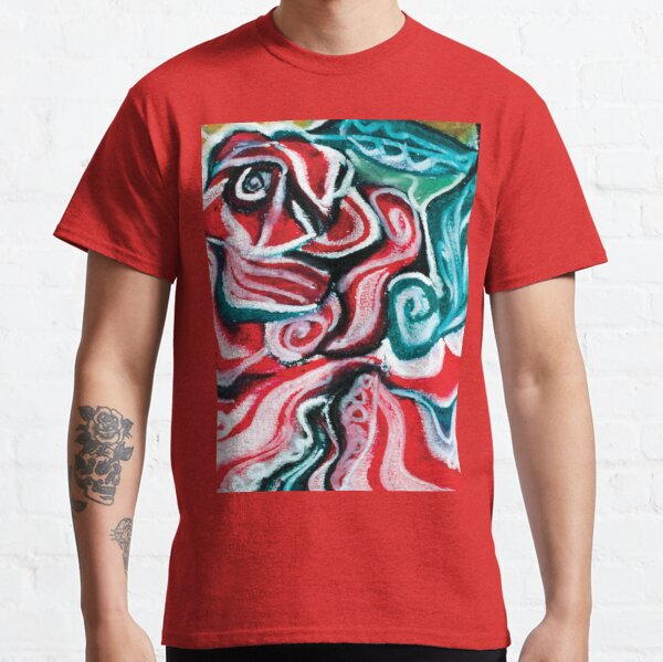 christmas colors present design Classic T-Shirt