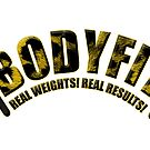 BODYFIT Cheetah Real Weights Real Results Logo by bodyfit