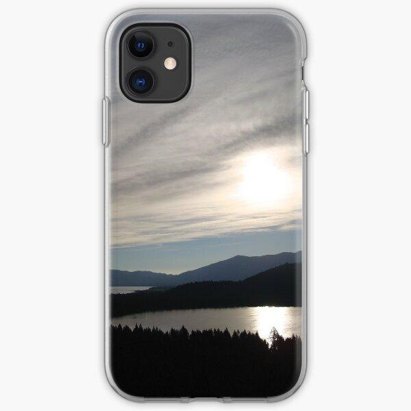 Sunrise Over Fallen Leaf Lake iPhone Soft Case