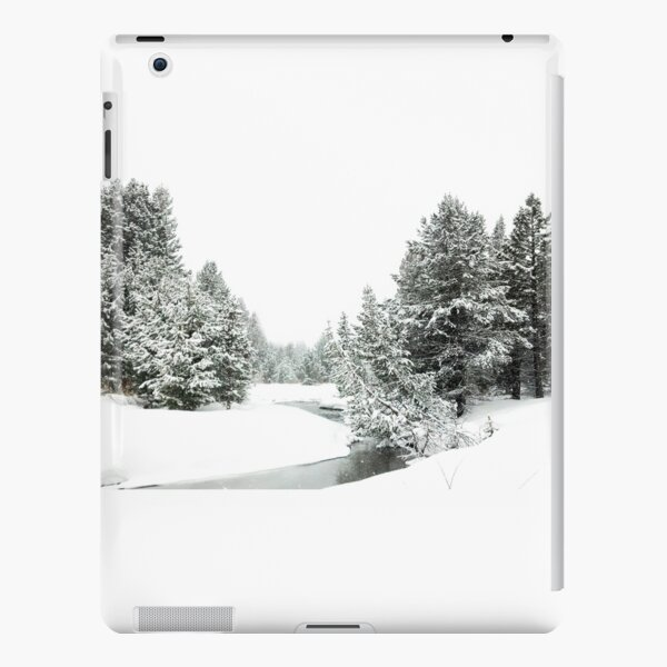 Upper Truckee River Surrounded by Snow iPad Snap Case