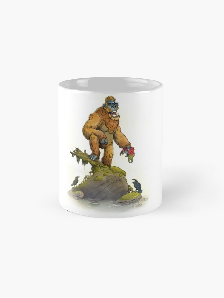 Alternate view of Bigfoot Mug