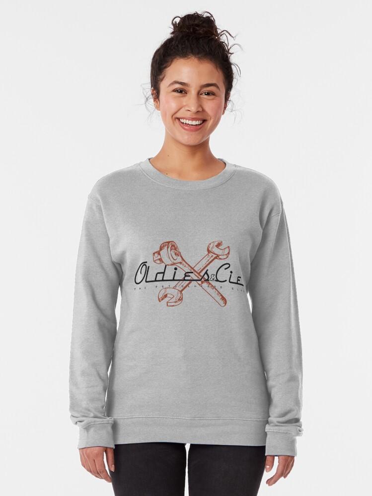 Alternate view of Oldies Co. Pullover Sweatshirt