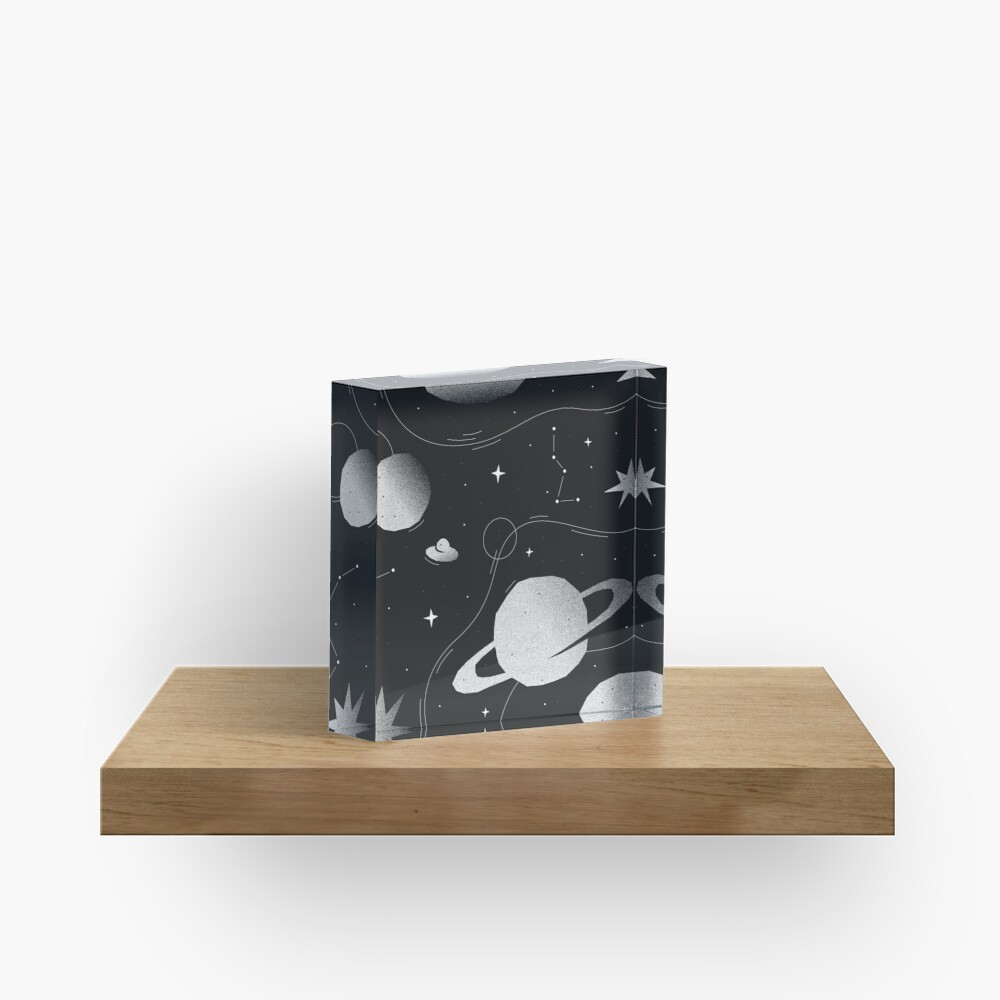 You are my universe Acrylic Block