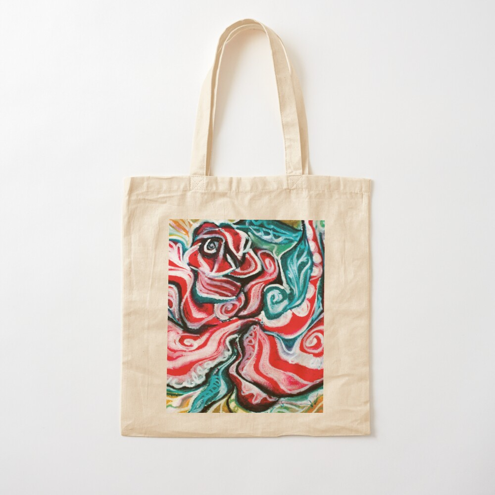 christmas colors present design Cotton Tote Bag